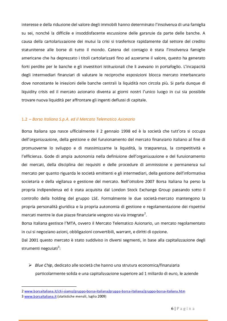 Anteprima della tesi: Alternative Investment Market (AIM Italia). Confronti e prospettive., Pagina 2