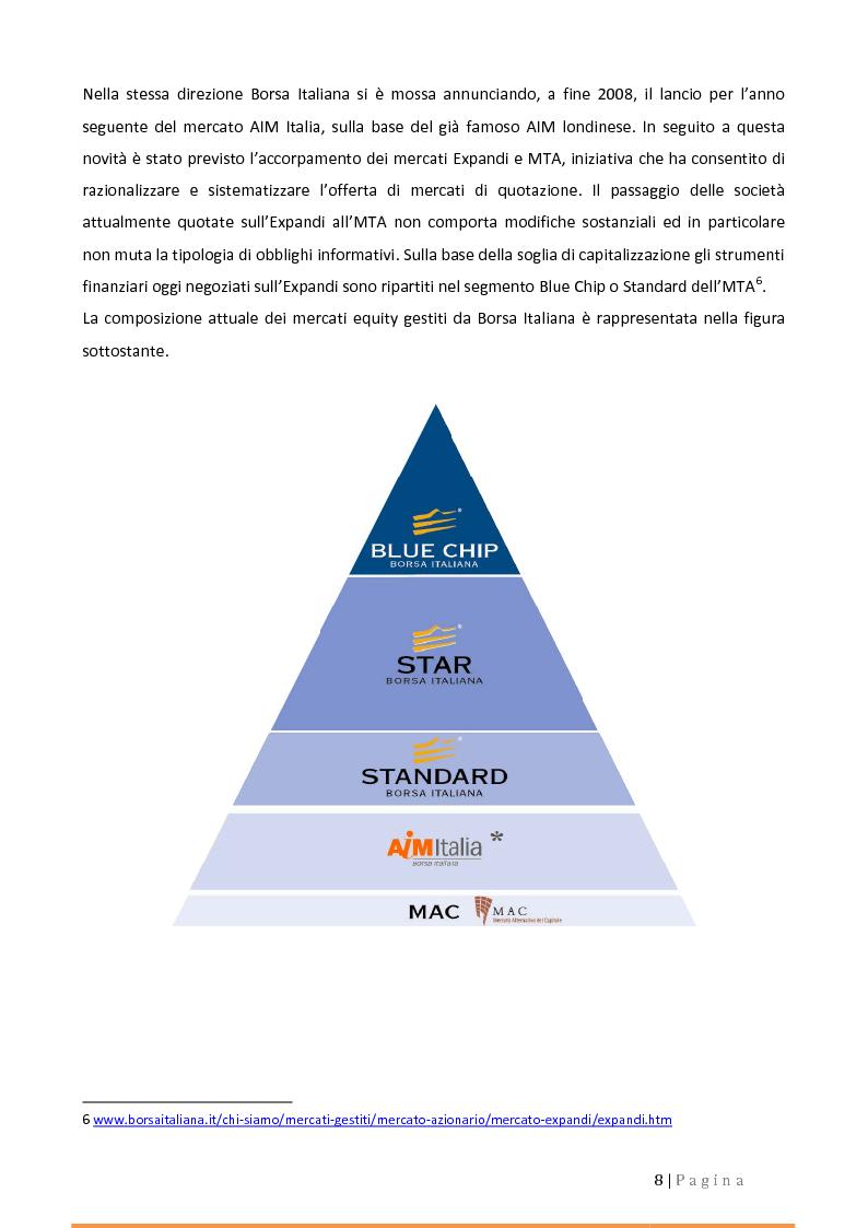 Anteprima della tesi: Alternative Investment Market (AIM Italia). Confronti e prospettive., Pagina 4