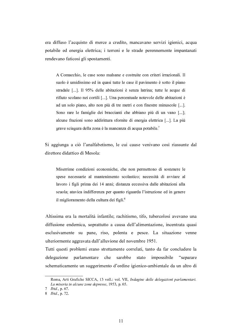 Anteprima della tesi: ''Per terre nuove uomini nuovi''. La propaganda cinematografica dell'Ente Delta Padano, Pagina 11