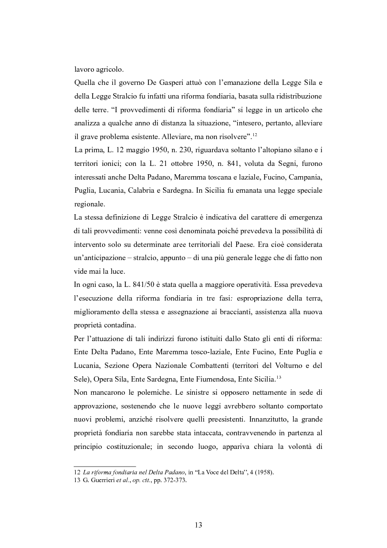 Anteprima della tesi: ''Per terre nuove uomini nuovi''. La propaganda cinematografica dell'Ente Delta Padano, Pagina 13