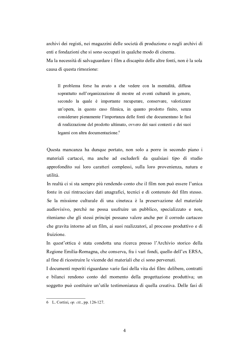 Anteprima della tesi: ''Per terre nuove uomini nuovi''. La propaganda cinematografica dell'Ente Delta Padano, Pagina 4