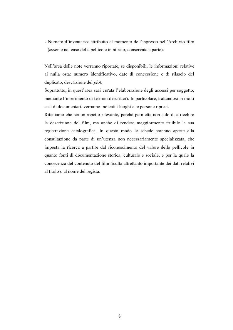 Anteprima della tesi: ''Per terre nuove uomini nuovi''. La propaganda cinematografica dell'Ente Delta Padano, Pagina 8