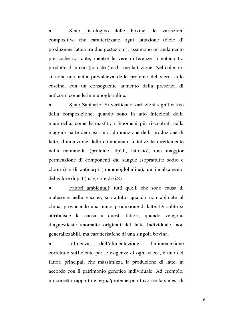 Anteprima della tesi: Sviluppo di un metodo RP-HPLC-IIR con reagente di interazione ionica per la determinazione di anioni di interesse bromatologico nel latte, Pagina 4