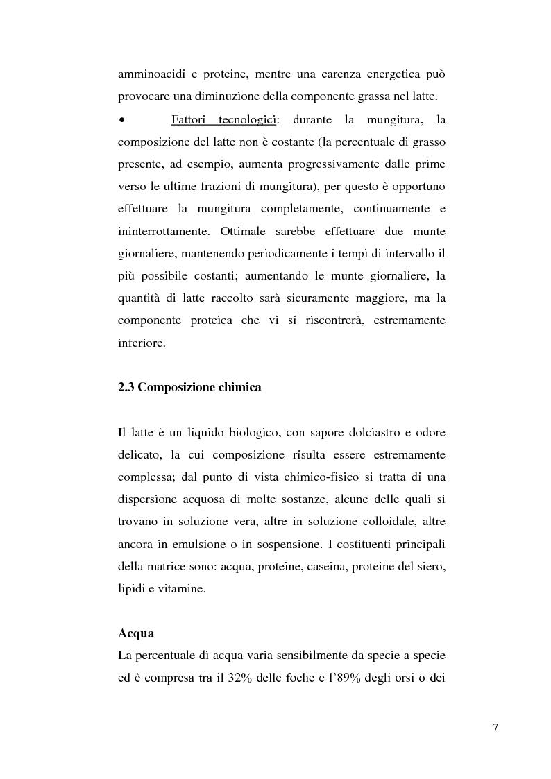 Anteprima della tesi: Sviluppo di un metodo RP-HPLC-IIR con reagente di interazione ionica per la determinazione di anioni di interesse bromatologico nel latte, Pagina 5