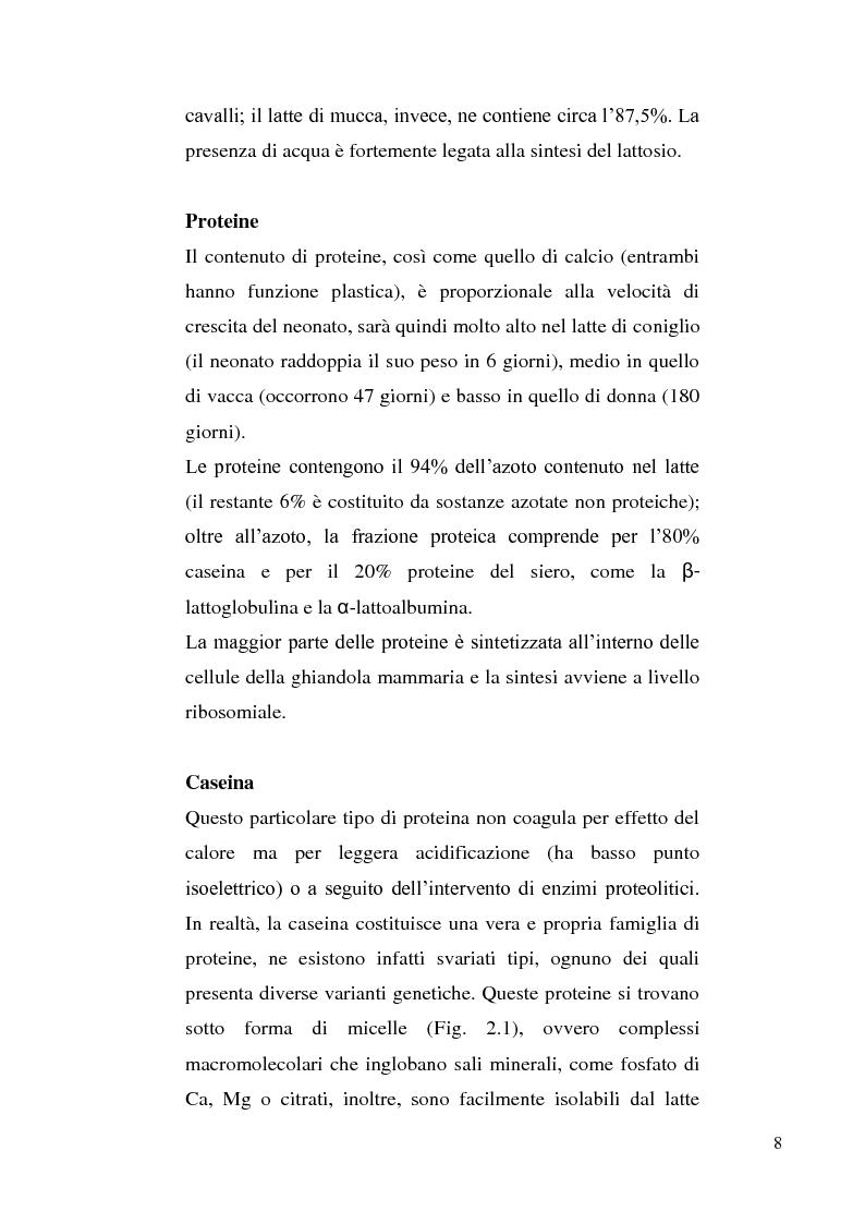 Anteprima della tesi: Sviluppo di un metodo RP-HPLC-IIR con reagente di interazione ionica per la determinazione di anioni di interesse bromatologico nel latte, Pagina 6