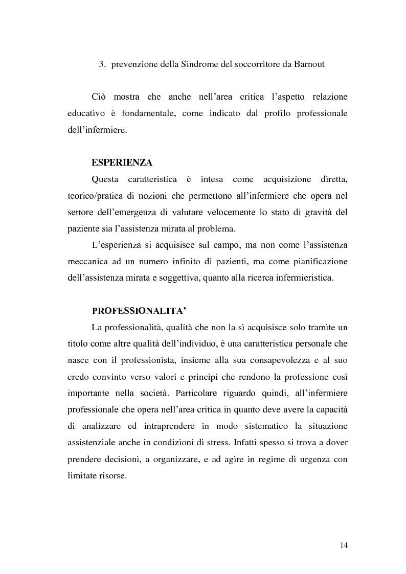 Anteprima della tesi: Ruolo dell'infermiere nella gestione del paziente politraumatizzato nell'ambito del servizio di emergenza territoriale, Pagina 10