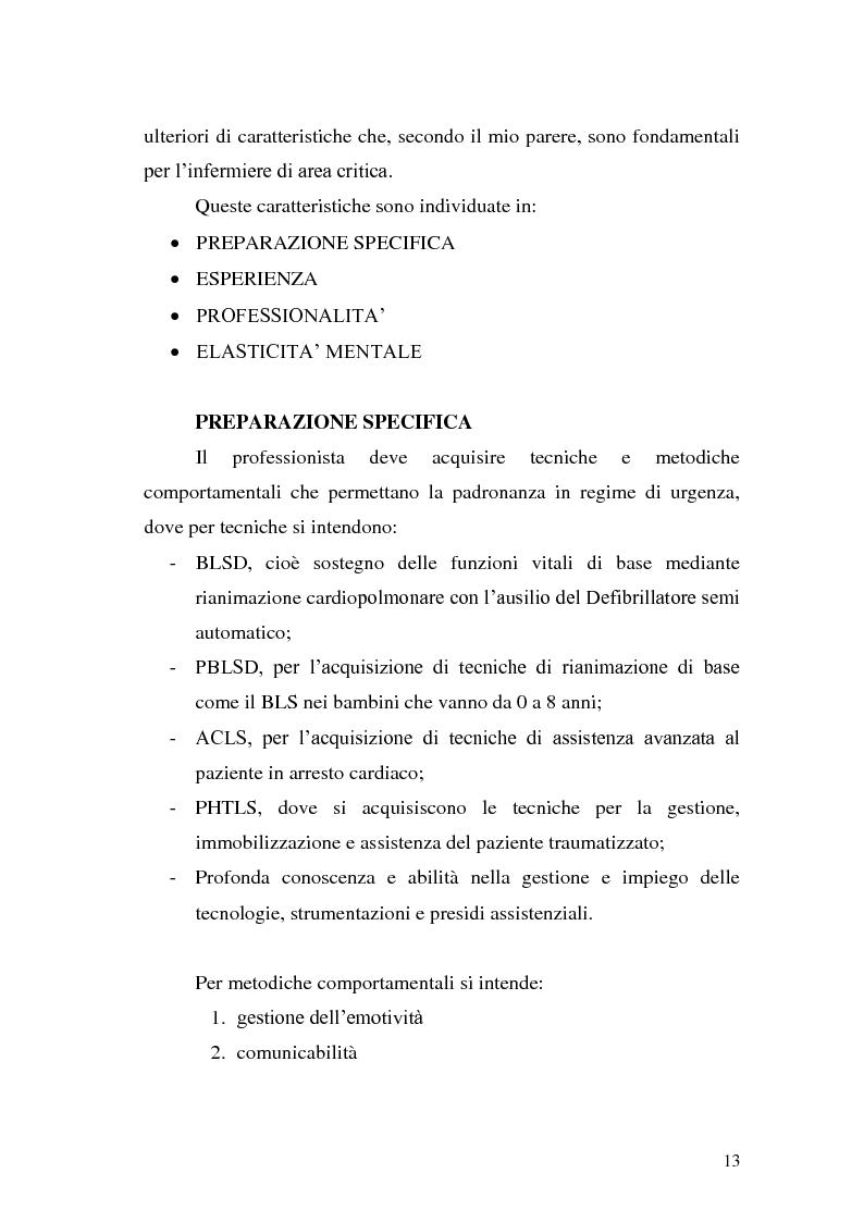 Anteprima della tesi: Ruolo dell'infermiere nella gestione del paziente politraumatizzato nell'ambito del servizio di emergenza territoriale, Pagina 9