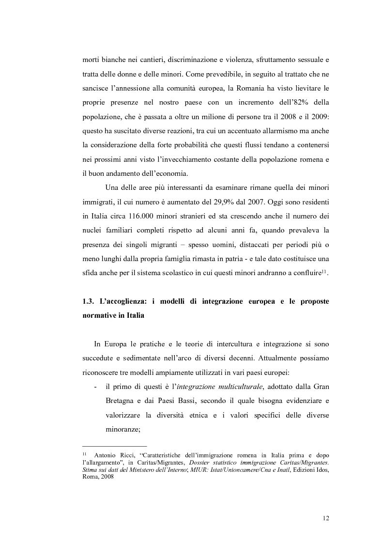 Anteprima della tesi: Insegnamento dell'italiano L2 nella scuola primaria: metodologie, progetti e applicazioni, Pagina 12