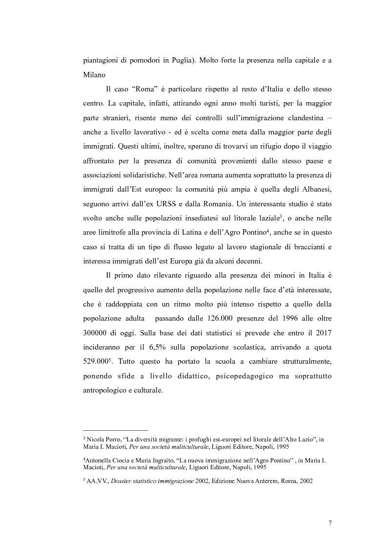 Anteprima della tesi: Insegnamento dell'italiano L2 nella scuola primaria: metodologie, progetti e applicazioni, Pagina 7