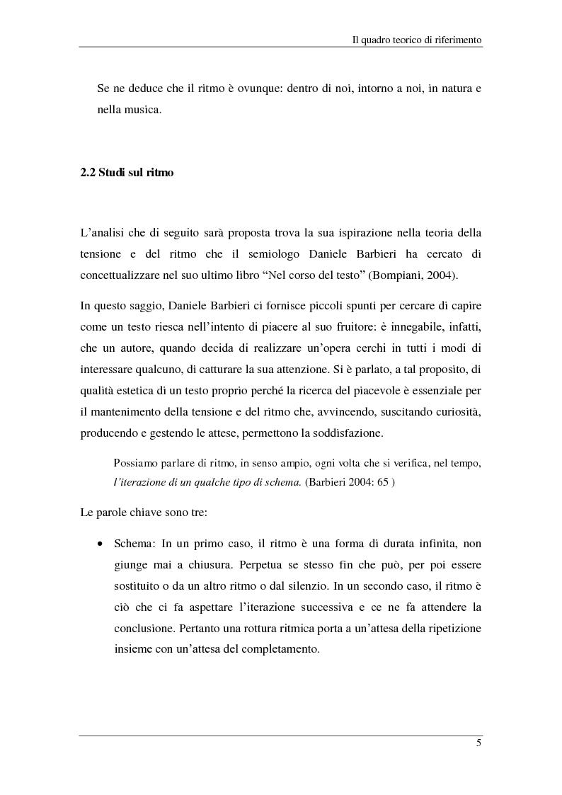 Anteprima della tesi: Il ritmo dei telegiornali: un confronto tra Studio Aperto e Tg3, Pagina 3
