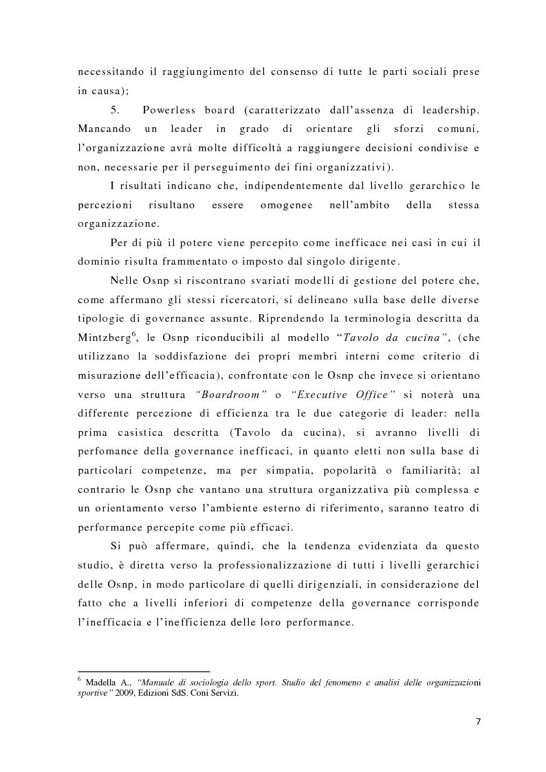 Anteprima della tesi: L'analisi del potere nelle organizzazioni non profit, Pagina 5