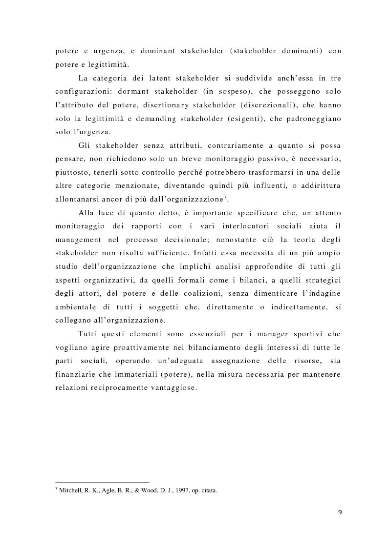 Anteprima della tesi: L'analisi del potere nelle organizzazioni non profit, Pagina 7