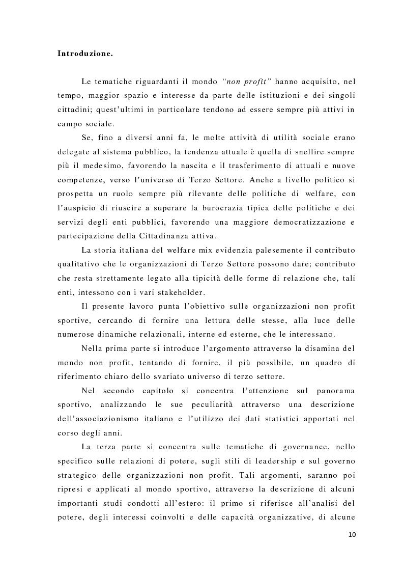 Anteprima della tesi: L'analisi del potere nelle organizzazioni non profit, Pagina 8