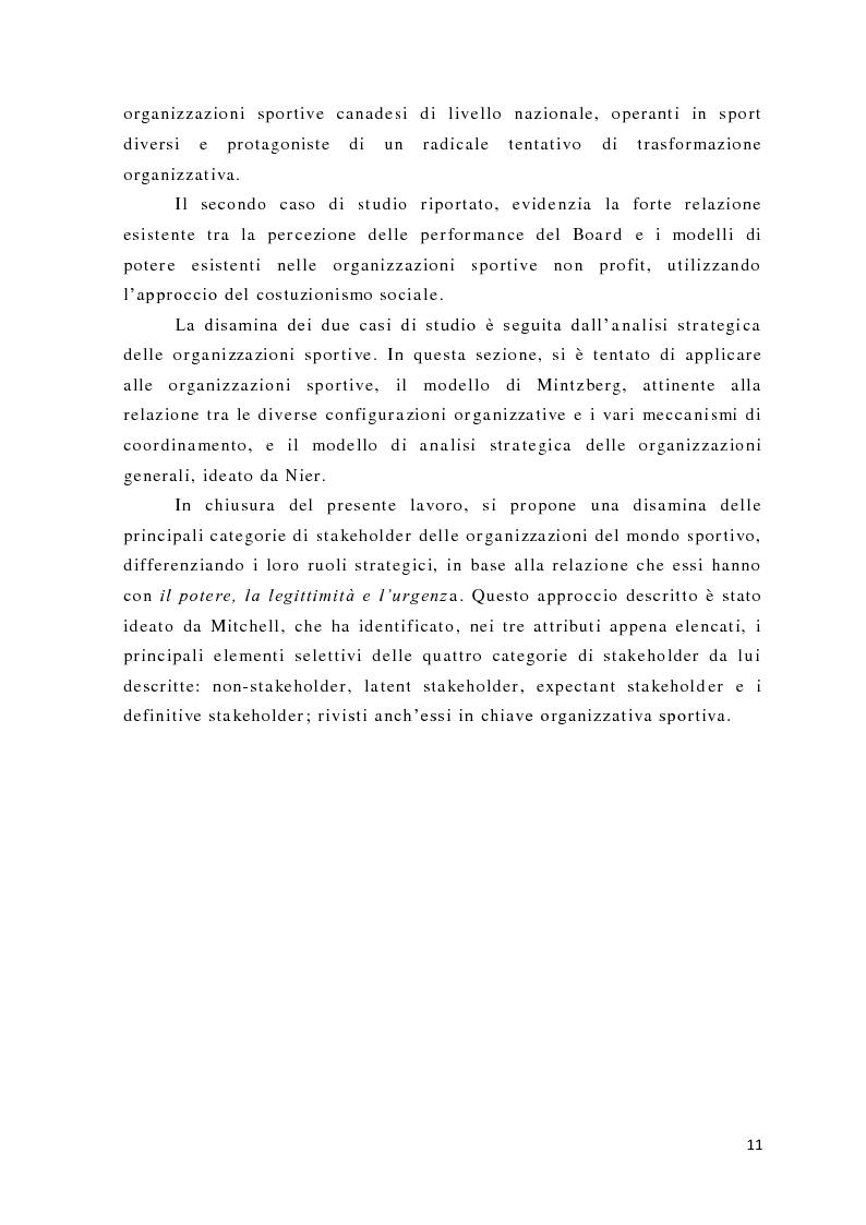 Anteprima della tesi: L'analisi del potere nelle organizzazioni non profit, Pagina 9