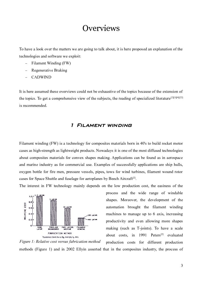 Anteprima della tesi: Design of a prototype device for filament winding of pressure vessels, Pagina 2