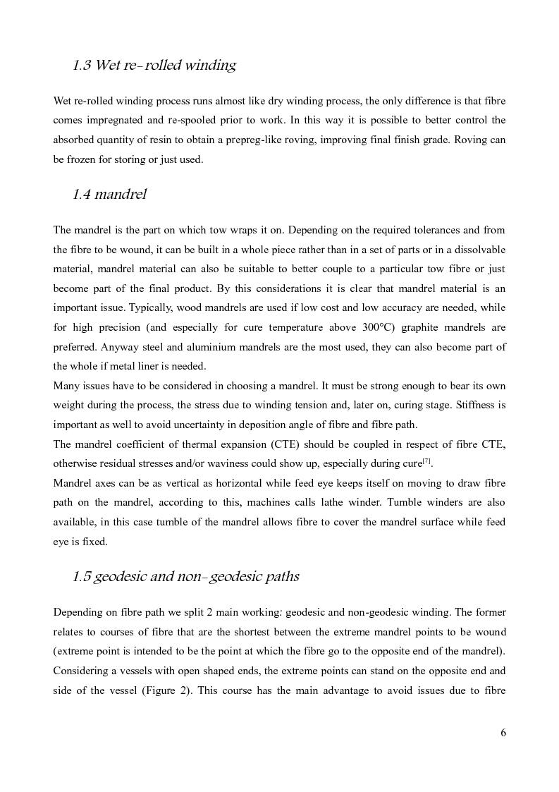 Anteprima della tesi: Design of a prototype device for filament winding of pressure vessels, Pagina 5