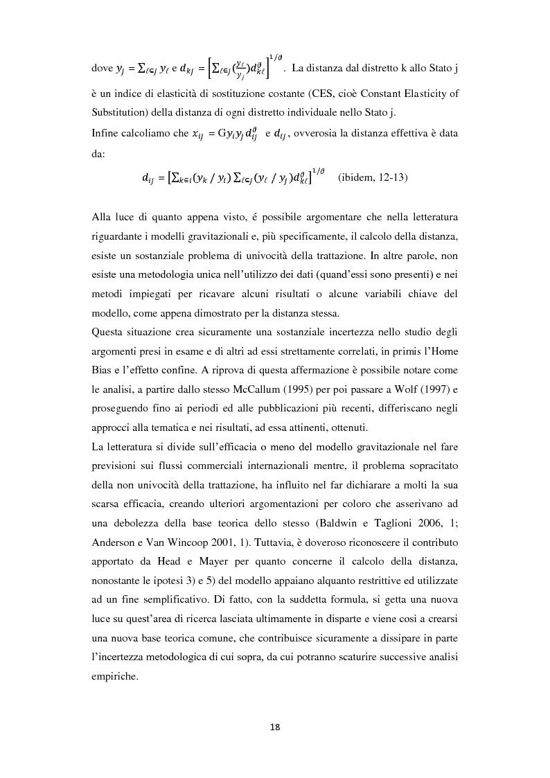 Anteprima della tesi: Home Bias: tra costi, barriere, preferenze del consumatore ed asimmetrie informative, Pagina 10