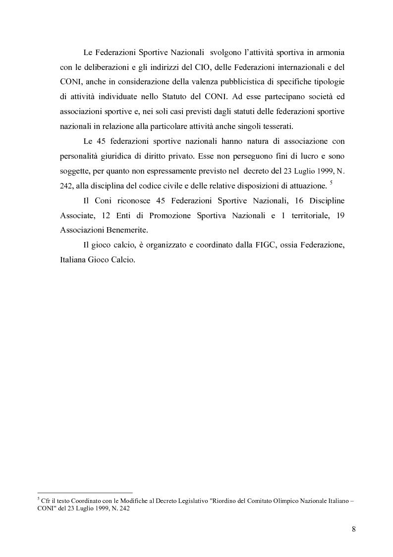 Anteprima della tesi: Il marketing nel pallone... le strategie adottate dall'U.S. Città di Palermo. Analisi e confronto con altre realtà calcistiche italiane, Pagina 8