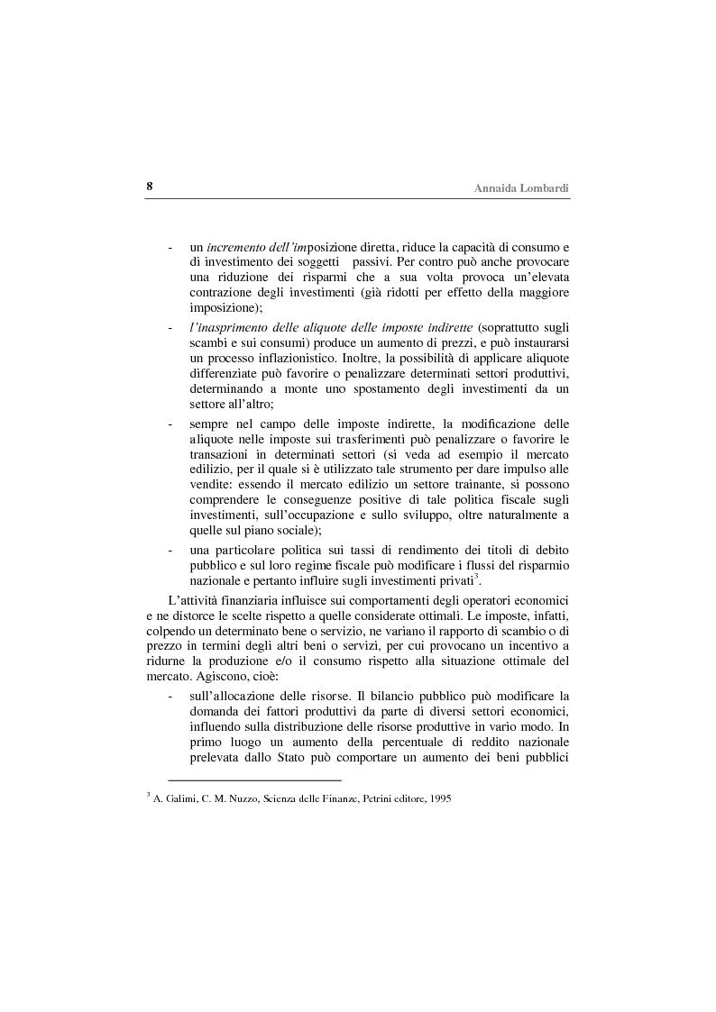 Anteprima della tesi: Gli effetti economici delle imposte sul settore assicurativo, Pagina 3