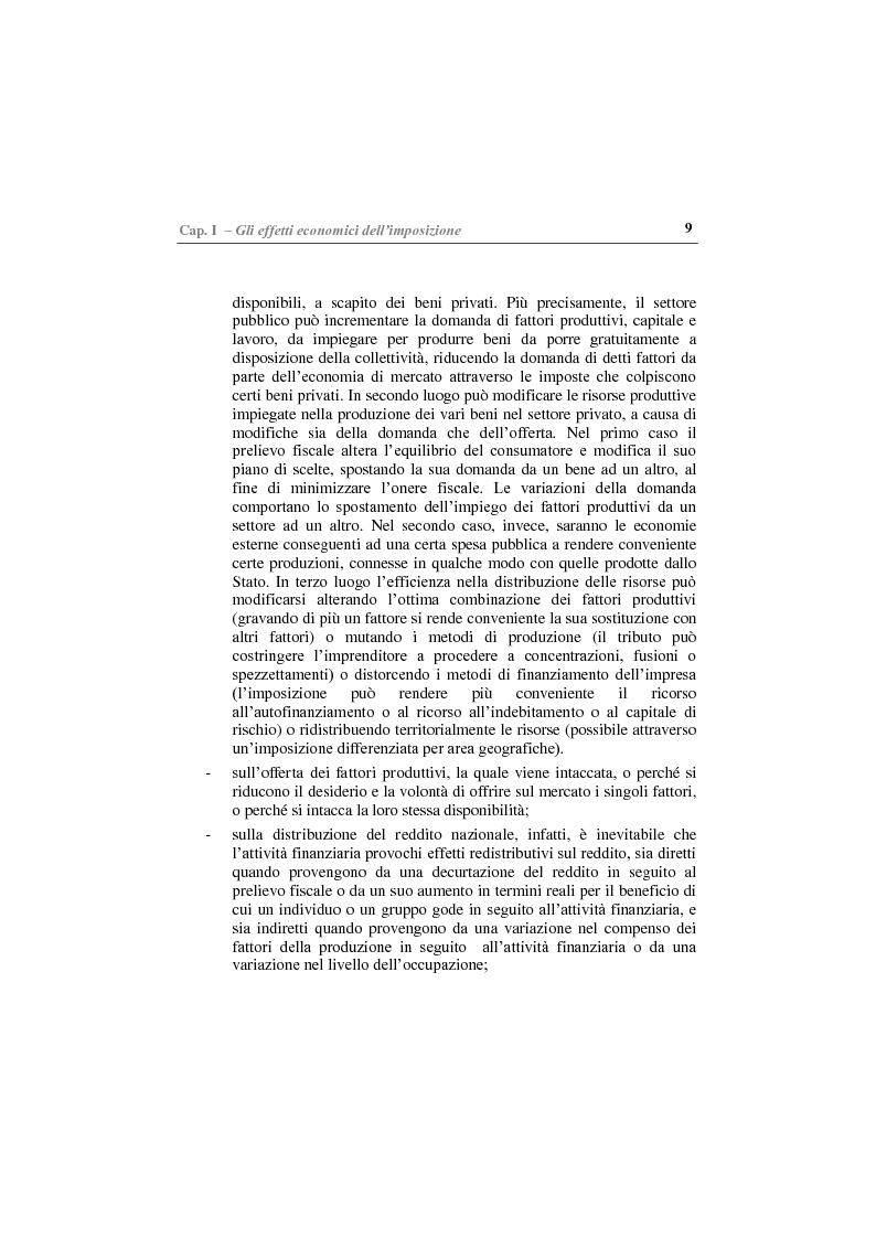 Anteprima della tesi: Gli effetti economici delle imposte sul settore assicurativo, Pagina 4