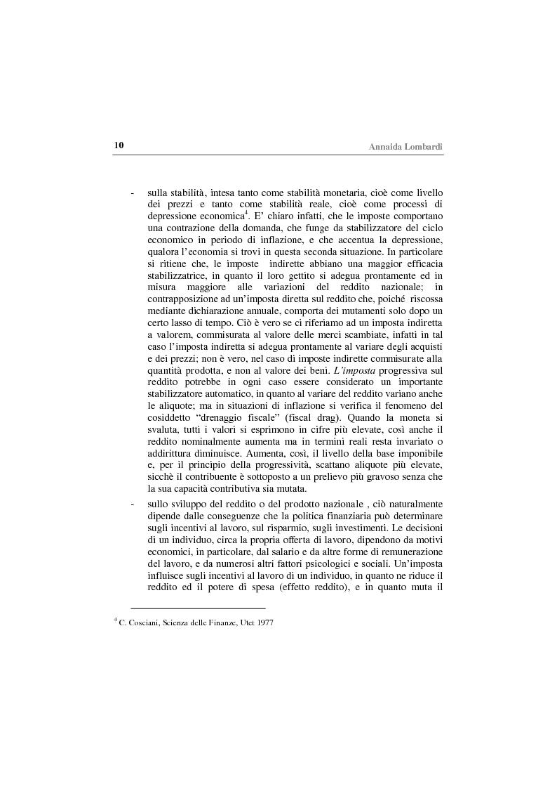 Anteprima della tesi: Gli effetti economici delle imposte sul settore assicurativo, Pagina 5