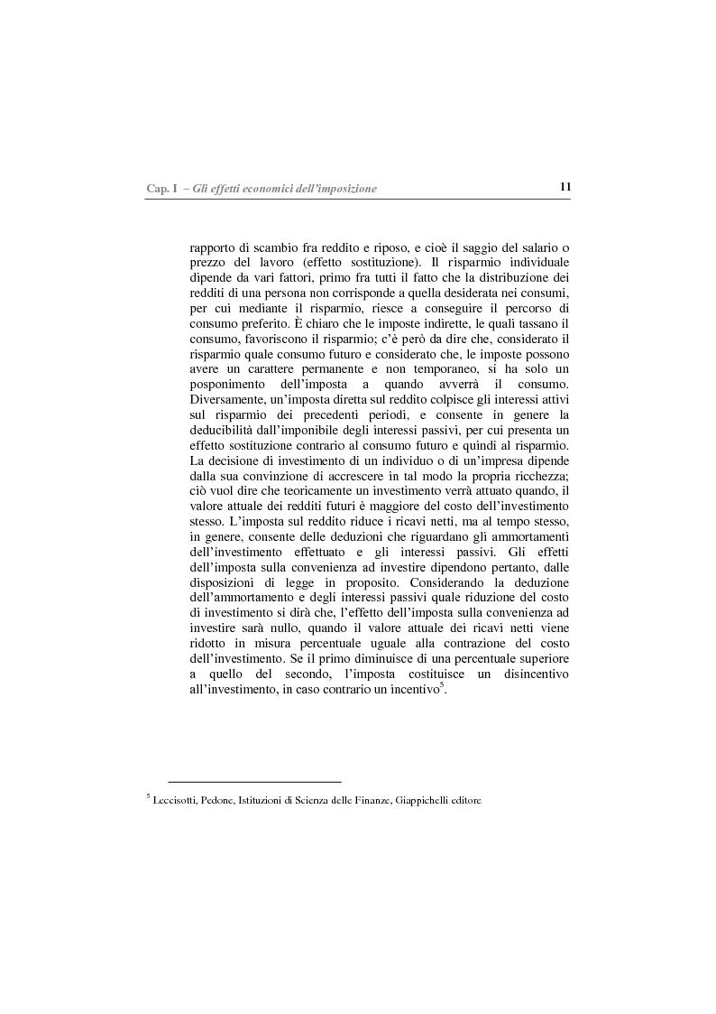 Anteprima della tesi: Gli effetti economici delle imposte sul settore assicurativo, Pagina 6