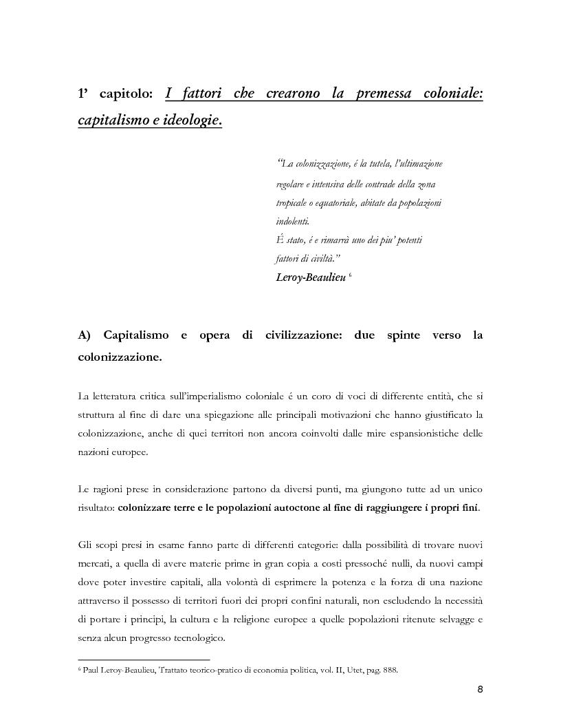 Anteprima della tesi: Colonialismo e alienazione coloniale. Una lettura critica di Frantz Fanon, Pagina 6
