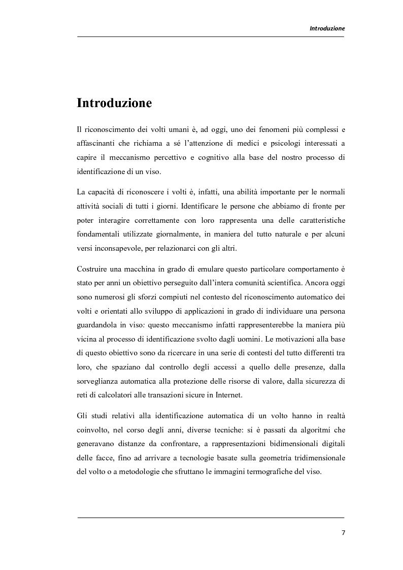 Anteprima della tesi: Un prototipo per il sistema NOMANFACE (NOn-negative MAtrix factorizatioN for FACE recognition), Pagina 1