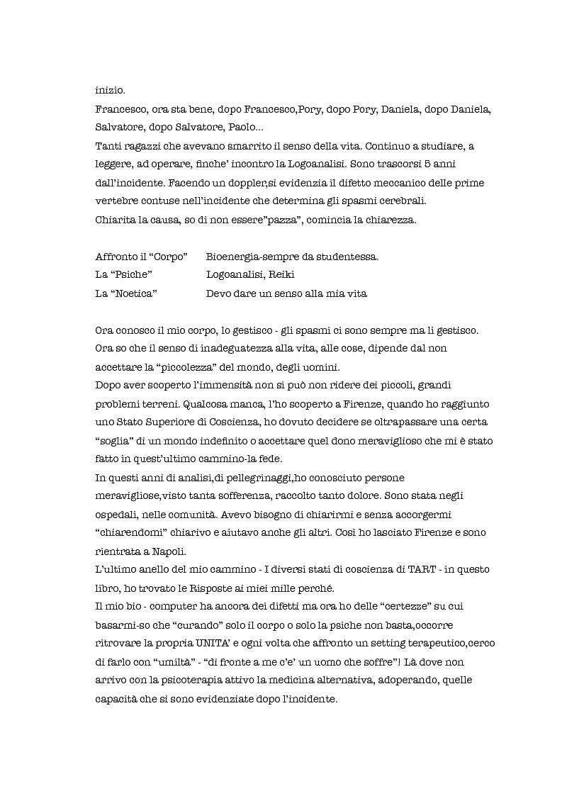 Anteprima della tesi: Psicoterapia e medicina alternativa nelle depressioni reattive - Casi clinici, Pagina 4
