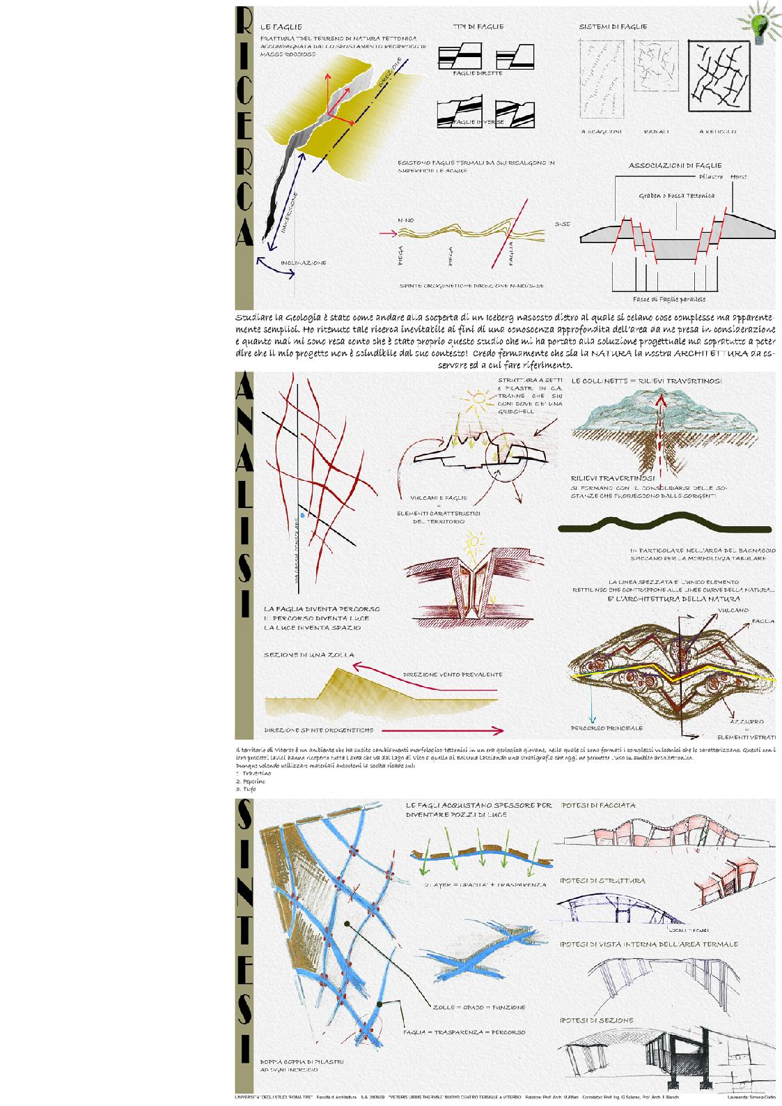 Anteprima della tesi: Veteris Urbis Thermae - Nuovo centro termale a Viterbo, Pagina 1