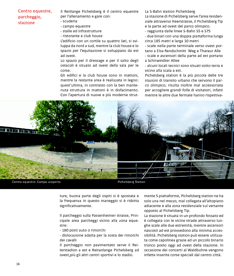 Anteprima della tesi: Schindler Award 2010. Strategie per la valorizzazione e l'accessibilità - Parco Olimpico di Berlino, Pagina 1