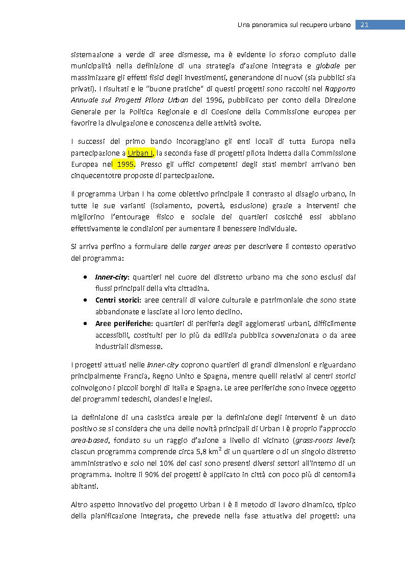 Anteprima della tesi: La trasformazione della città mediterranea. Aspetti innovativi del recupero., Pagina 13