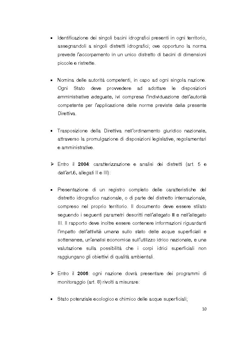 Anteprima della tesi: La Direttiva Quadro 2000/60 Ce e il Bacino scolante nella Laguna di Venezia: un approccio all'analisi costi - efficacia, Pagina 5