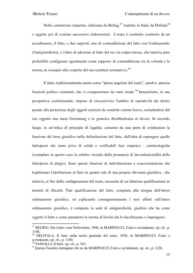 Anteprima della tesi: L'adempimento del dovere tra natura giuridica e profili internazionalistici, Pagina 12