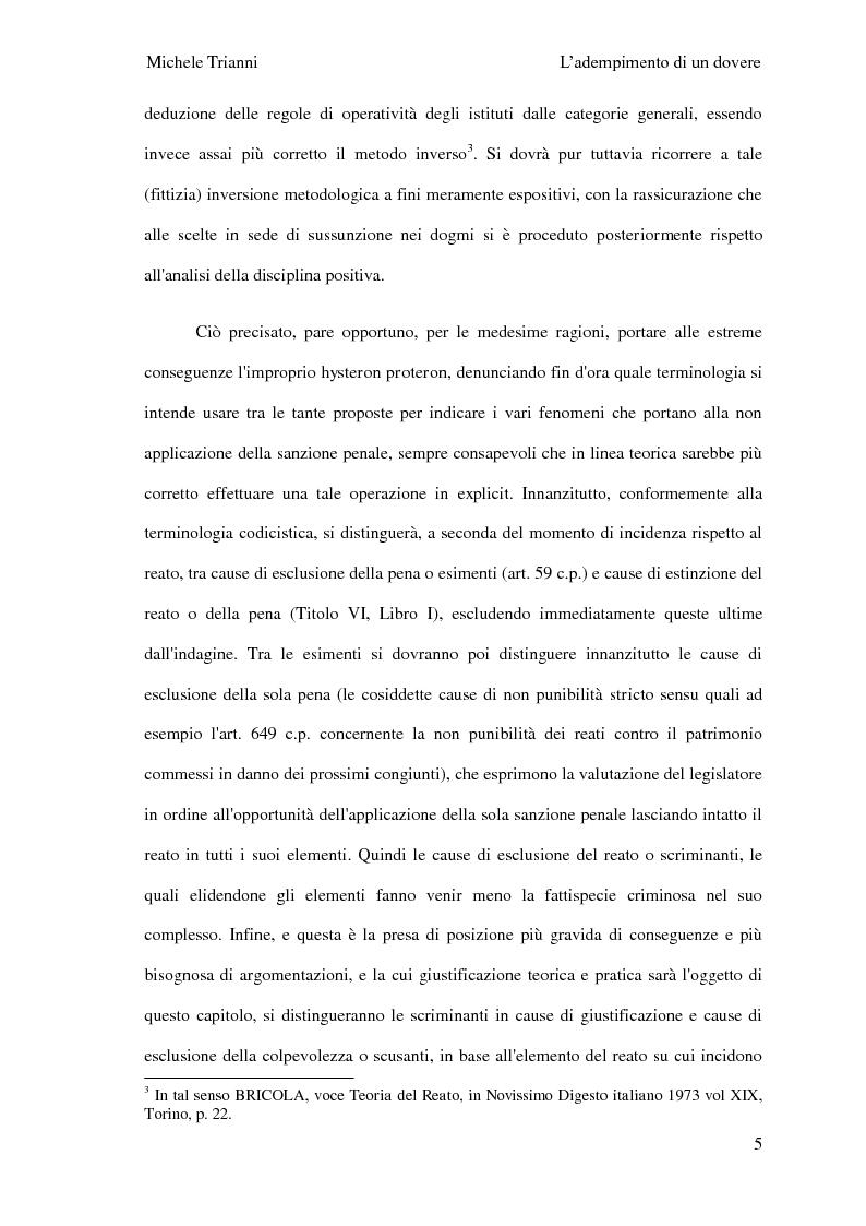 Anteprima della tesi: L'adempimento del dovere tra natura giuridica e profili internazionalistici, Pagina 2