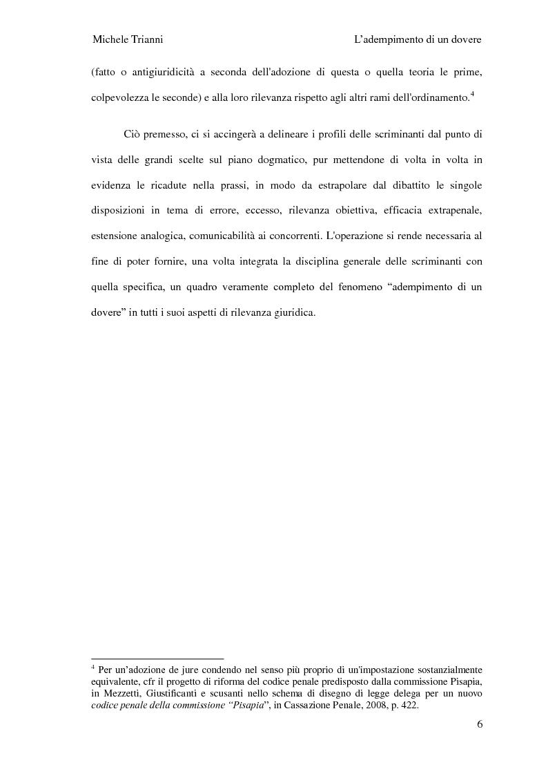 Anteprima della tesi: L'adempimento del dovere tra natura giuridica e profili internazionalistici, Pagina 3