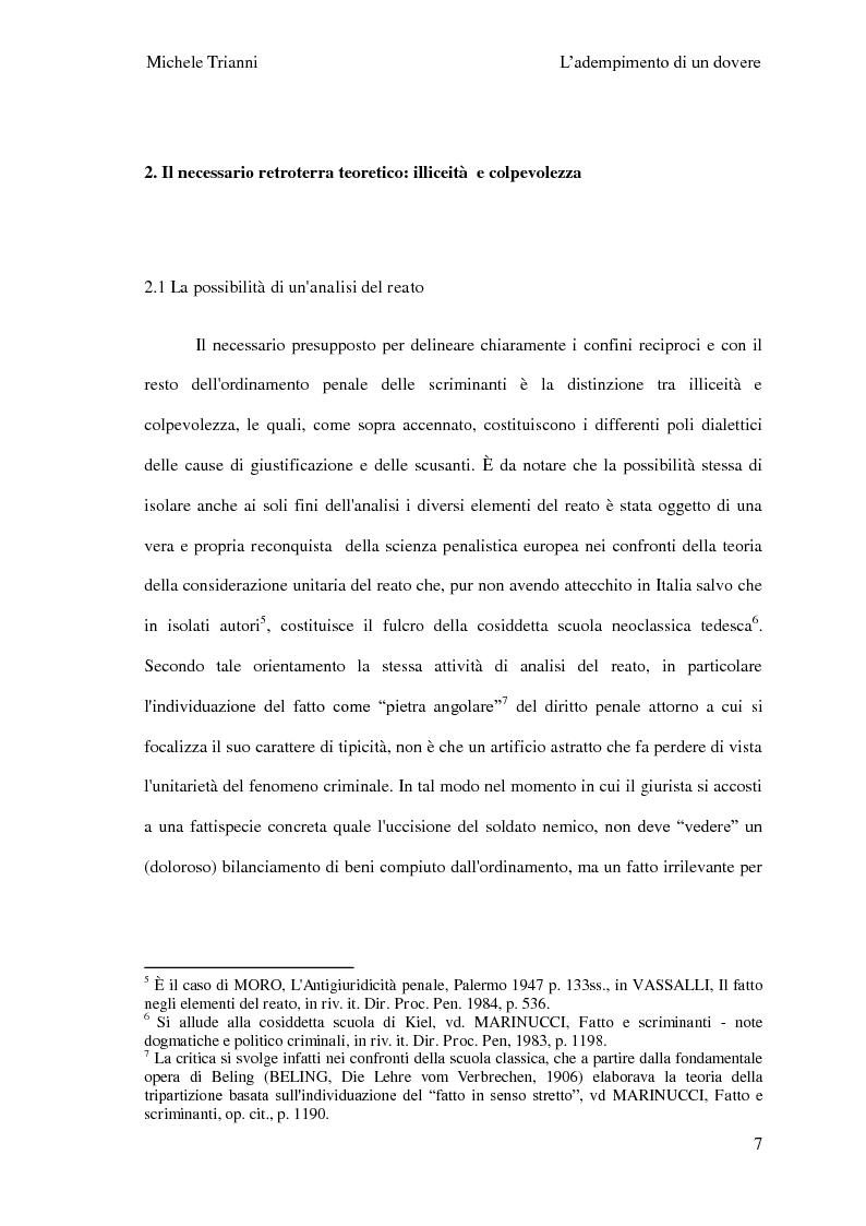 Anteprima della tesi: L'adempimento del dovere tra natura giuridica e profili internazionalistici, Pagina 4