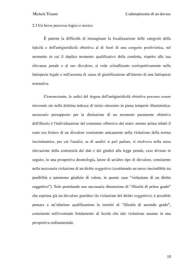Anteprima della tesi: L'adempimento del dovere tra natura giuridica e profili internazionalistici, Pagina 7