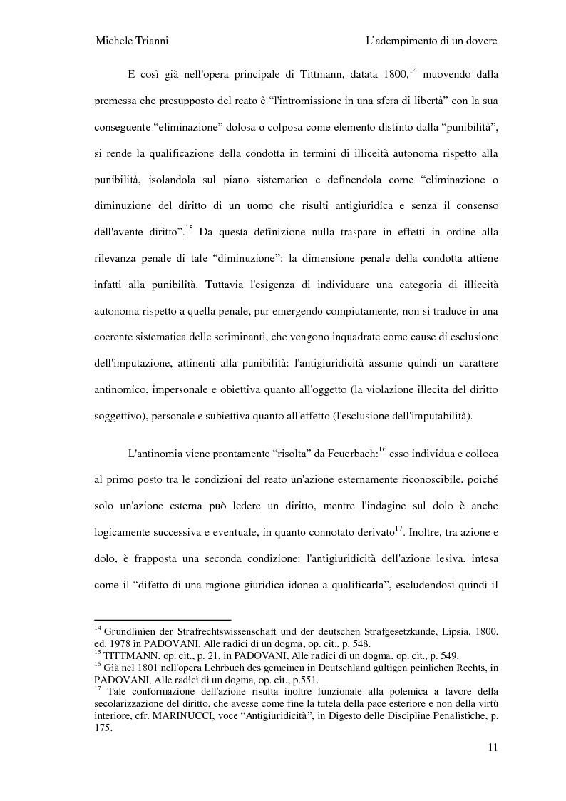 Anteprima della tesi: L'adempimento del dovere tra natura giuridica e profili internazionalistici, Pagina 8