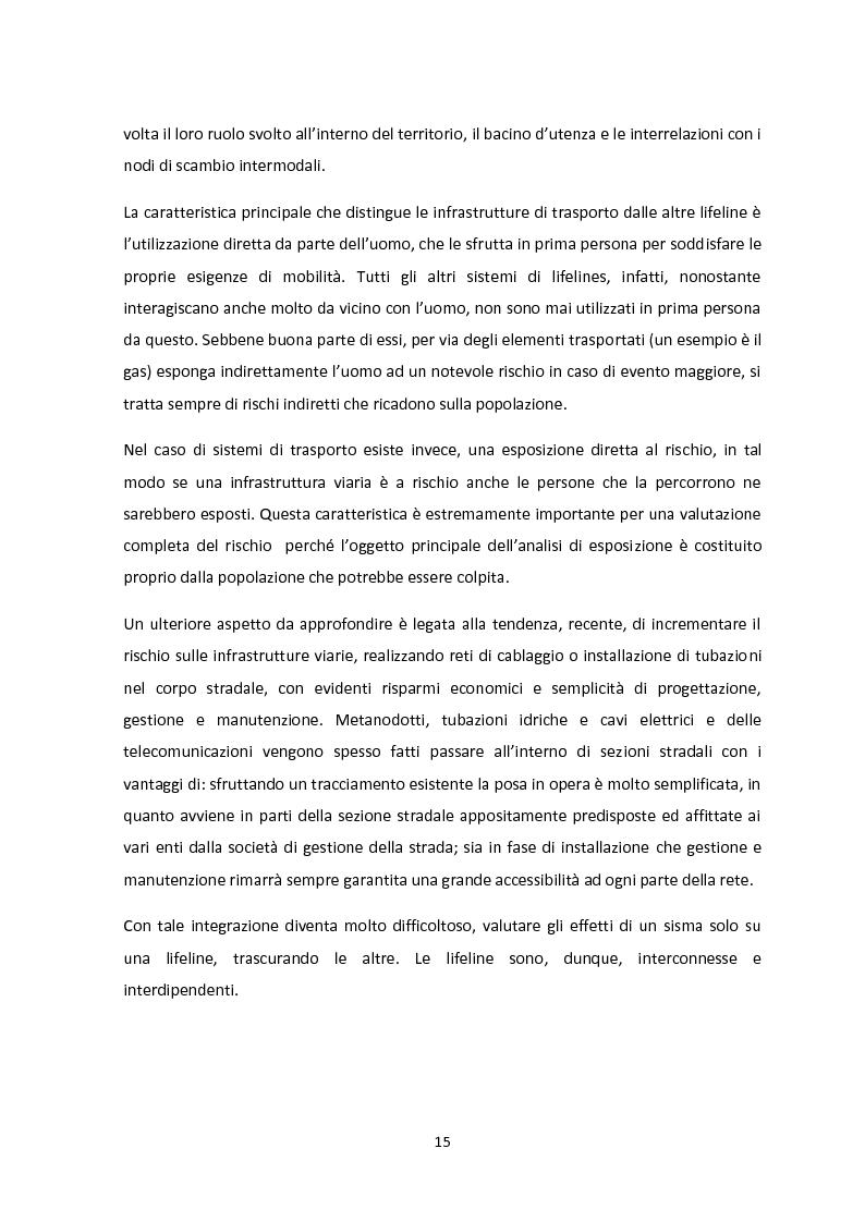 Anteprima della tesi: Analisi dei guasti applicata alla vulnerabilità sismica delle infrastrutture viarie, Pagina 11