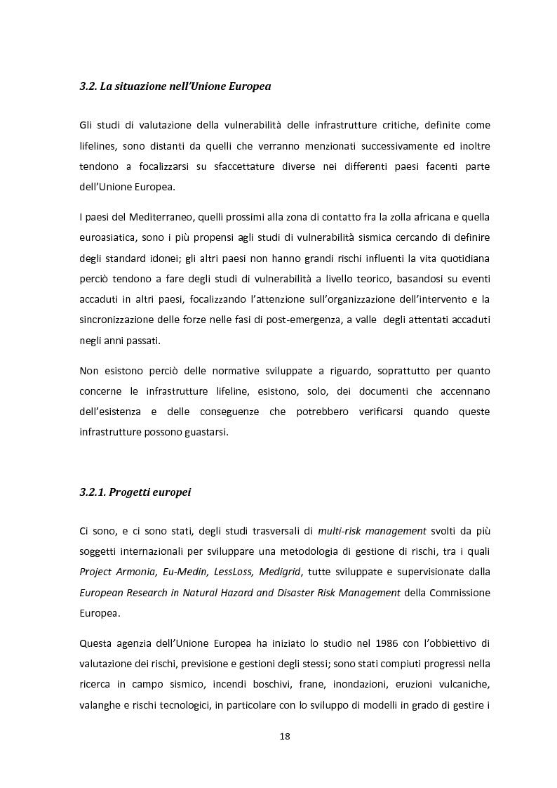 Anteprima della tesi: Analisi dei guasti applicata alla vulnerabilità sismica delle infrastrutture viarie, Pagina 14