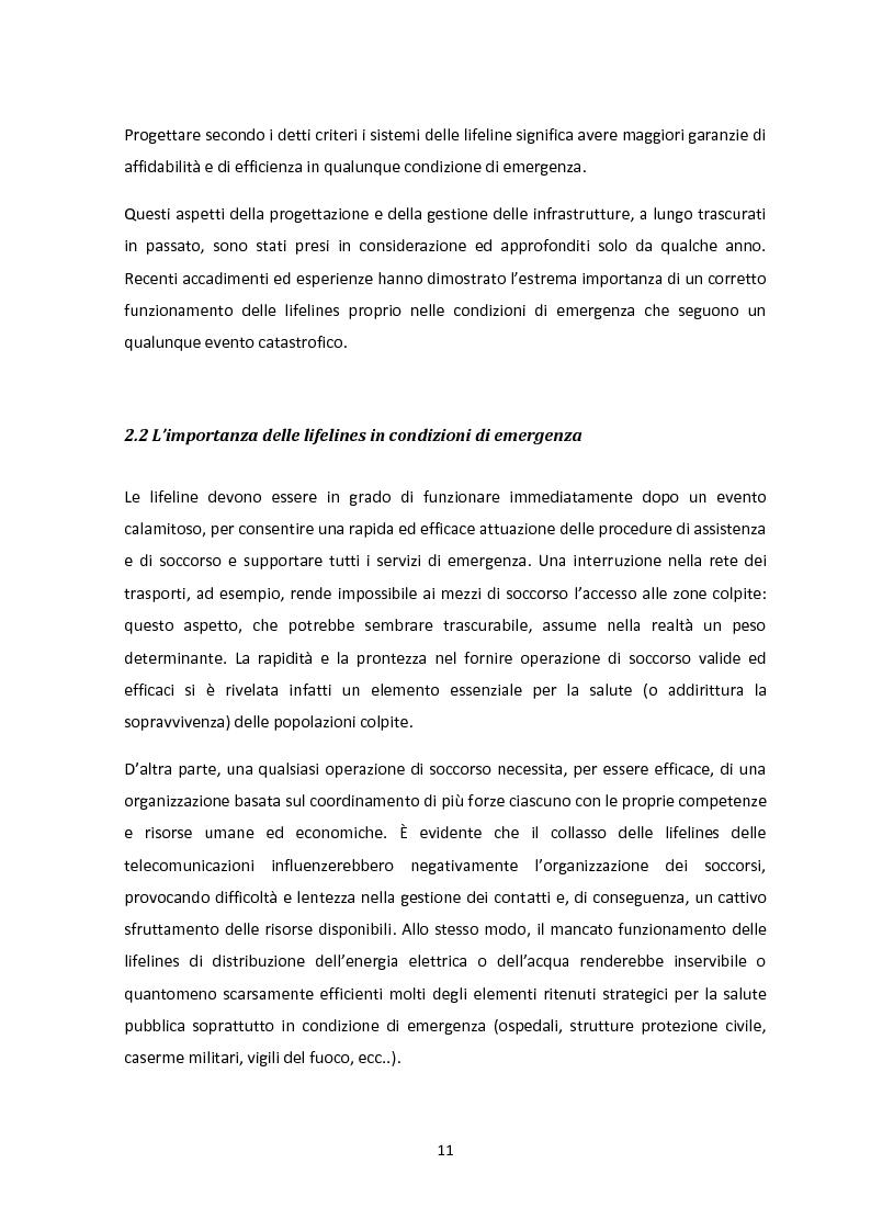 Anteprima della tesi: Analisi dei guasti applicata alla vulnerabilità sismica delle infrastrutture viarie, Pagina 7
