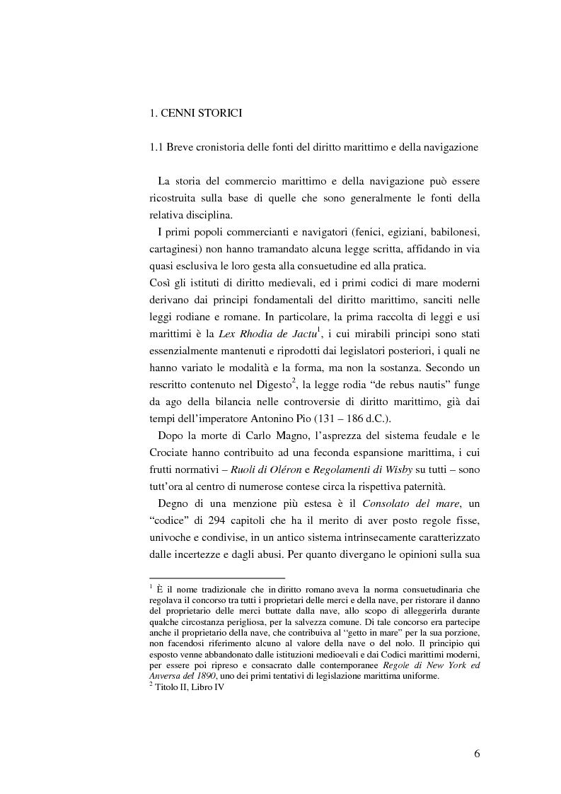 Anteprima della tesi: Il ruolo dell'impresa terminalista nell'ambito delle realtà portuali nazionali, Pagina 3