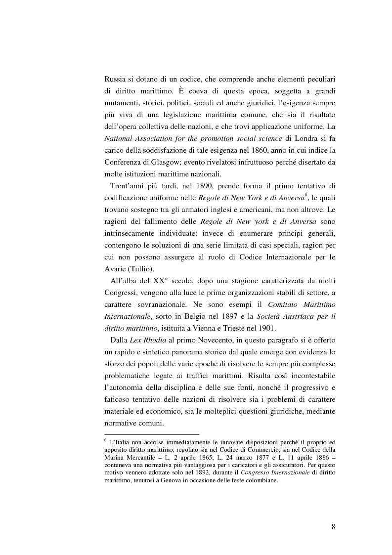 Anteprima della tesi: Il ruolo dell'impresa terminalista nell'ambito delle realtà portuali nazionali, Pagina 5