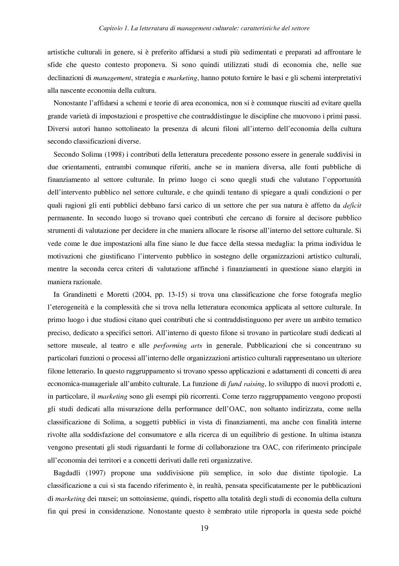 Anteprima della tesi: Internet e nuove tecnologie nel settore museale: ipotesi e strumenti per un approccio immateriale alla creazione del valore, Pagina 15
