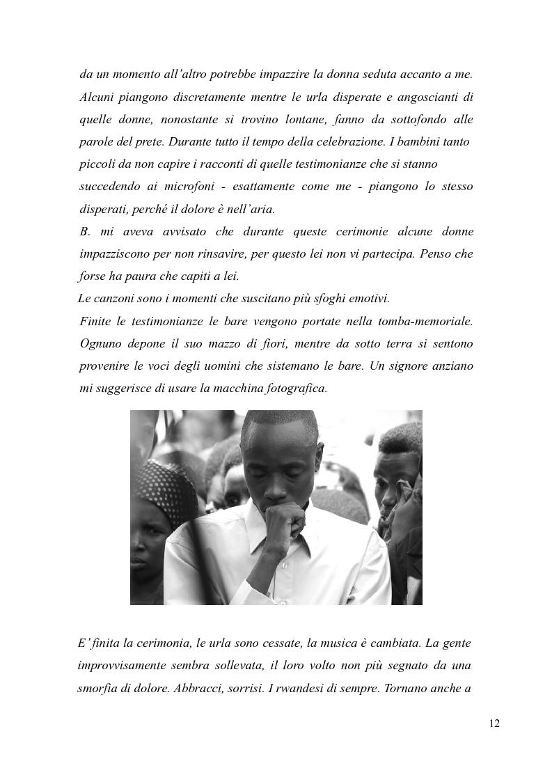 Anteprima della tesi: Voci e sguardi del Rwanda. Il genocidio tra distorsioni giornalistiche e rappresentazioni rwandesi., Pagina 10