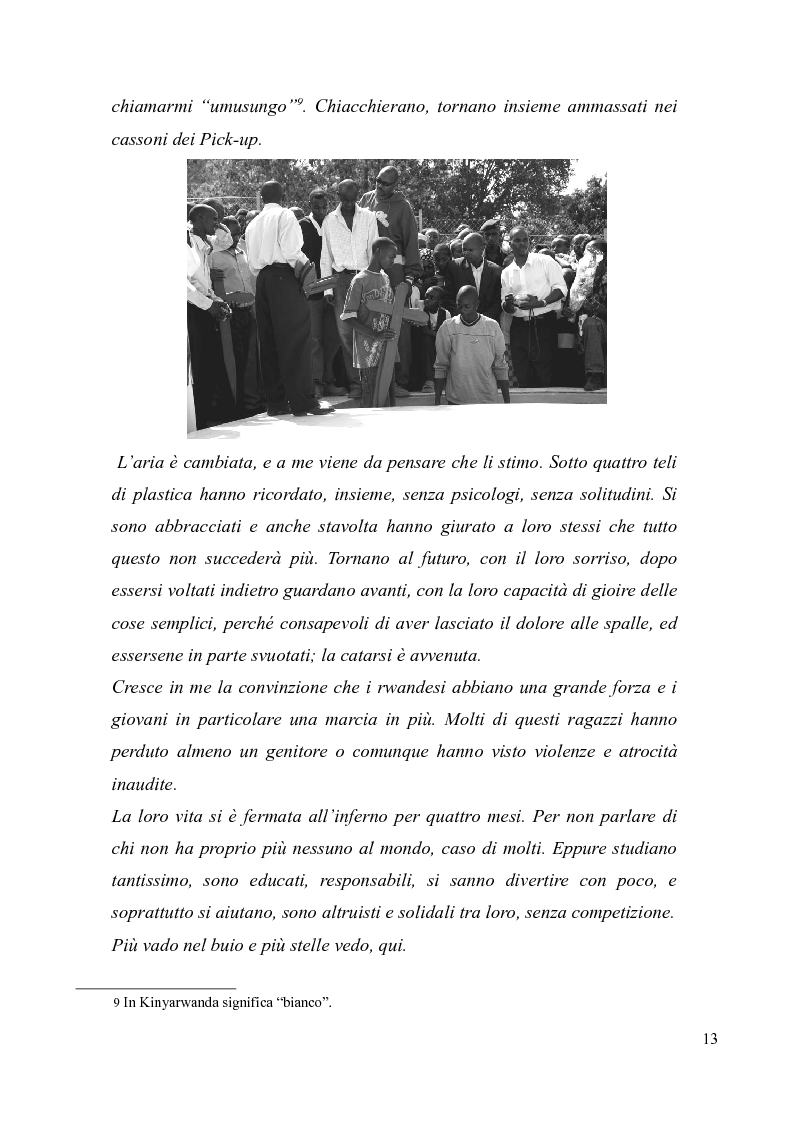 Anteprima della tesi: Voci e sguardi del Rwanda. Il genocidio tra distorsioni giornalistiche e rappresentazioni rwandesi., Pagina 11