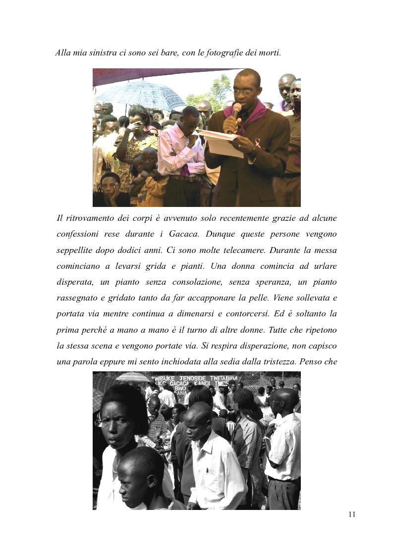 Anteprima della tesi: Voci e sguardi del Rwanda. Il genocidio tra distorsioni giornalistiche e rappresentazioni rwandesi., Pagina 9