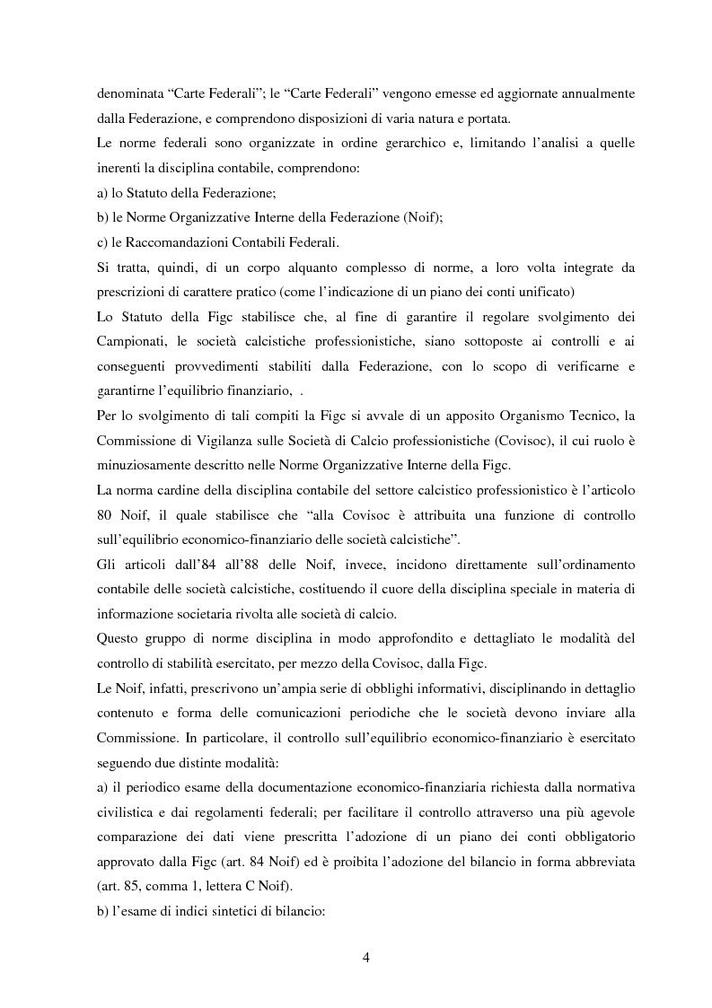 Anteprima della tesi: Il bilancio del pallone: frodi e contabilità creativa nel bilancio delle società di calcio, Pagina 2
