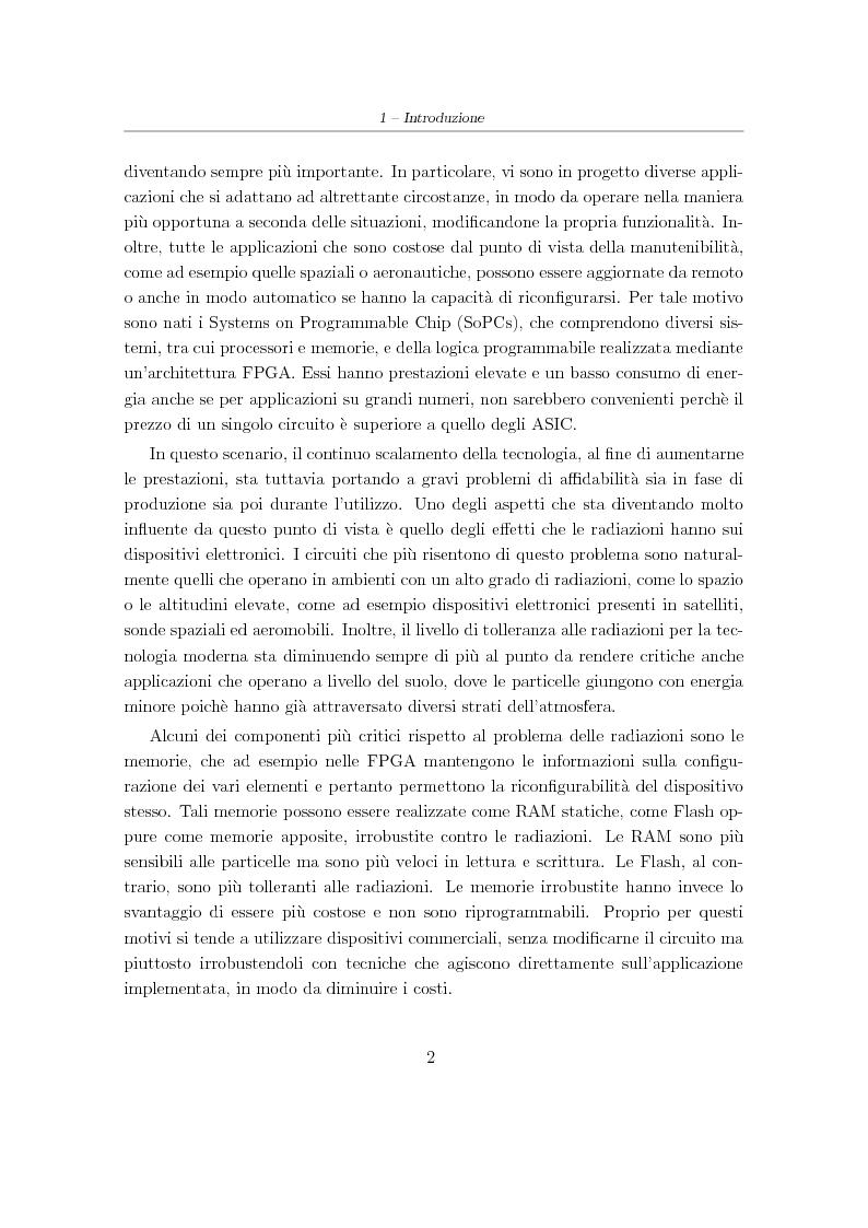 Anteprima della tesi: Progetto e sviluppo di una piattaforma software per l'analisi e l'irrobustimento automatico di circuiti elettronici per applicazioni spaziali, Pagina 2
